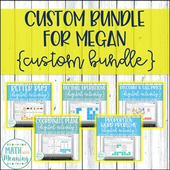 Custom Bundle for Megan