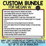 Custom Bundle for Megan W.