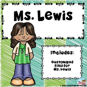 Custom Bundle for Ms Lewis