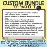 Custom Bundle for Rachel T.