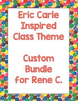 Custom Bundle for Rene C.