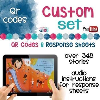 Custom QR Code Bundle YouTube Links