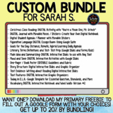 Custom Bundle for Sarah