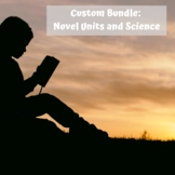 Custom Bundle of  Novel Units plus Science for Special Education