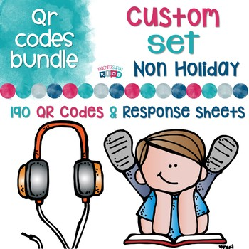 Non Holiday Bundle of QR Codes