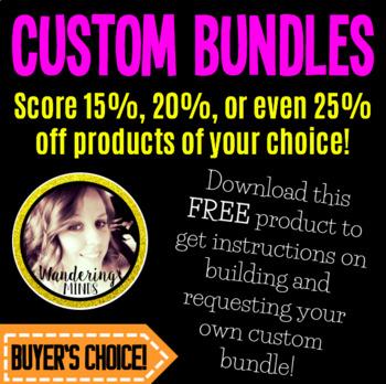 Custom Bundles!