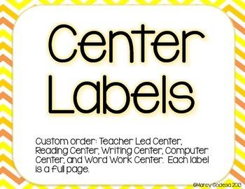 Custom Center Labels