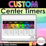 Custom Center Rotation Timers