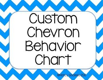 Custom Chevron Behavior Chart