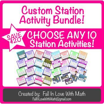 Custom - Choose 10 - Station Activities!