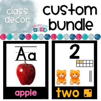 Custom Class Decor Bundle