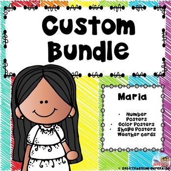 Custom Class Decor Bundle for Maria