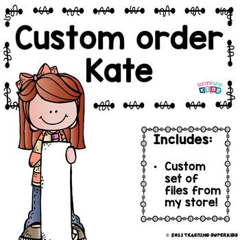 Custom Class Decor Items Kate