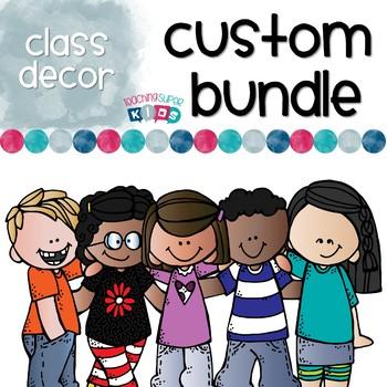 Custom Class Decor Order