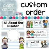 Custom Classroom Decor