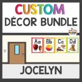 Custom Classroom Decor Bundle