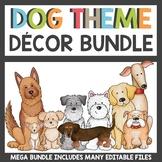 Classroom Decor Theme Dog Bundle