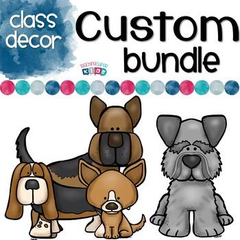 Custom Classroom Decor Bundle for Danica