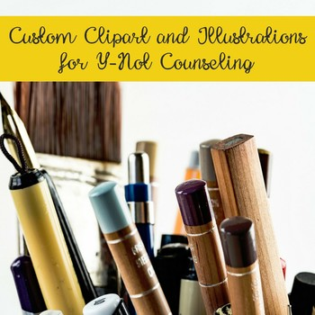 Custom Clipart and Illustrations for Y-Not Counseling