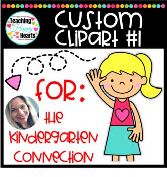 Custom Clipart for The Kindergarten Connection: Set #1