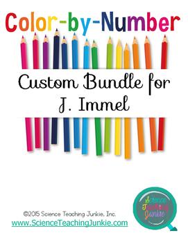 Custom Color-by-Number Bundle for J. Immel