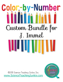 Custom Color-by-Number Bundle for J. Immel
