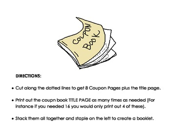 Custom Coupon Book, Freebies Coupons!