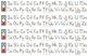 Custom Desk Strips - Name, ABCs, Numbers, Colors & Shapes, L&R, Sunshine Script