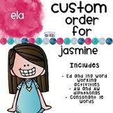 Custom ELA set for Jasmine