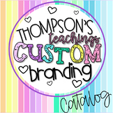 Educator and Teacher Logo and Banner PACKAGES for Instagra