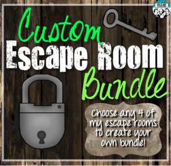 Custom Escape Room Bundle