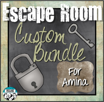 Custom Escape Room Bundle for Amina