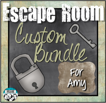 Custom Escape Room Bundle for Amy