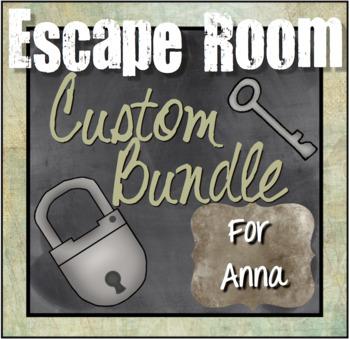Custom Escape Room Bundle for Anna