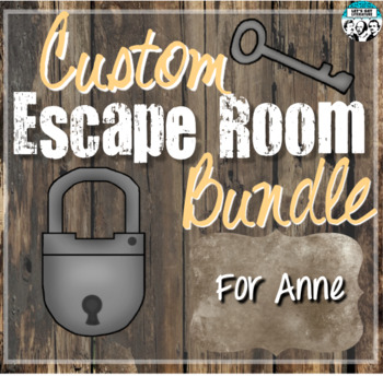 Custom Escape Room Bundle for Anne