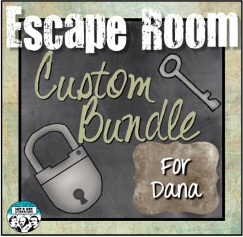 Custom Escape Room Bundle for Dana
