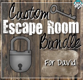 Custom Escape Room Bundle for David