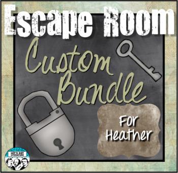 Custom Escape Room Bundle for Heather