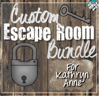 Custom Escape Room Bundle for Kathryn Anne