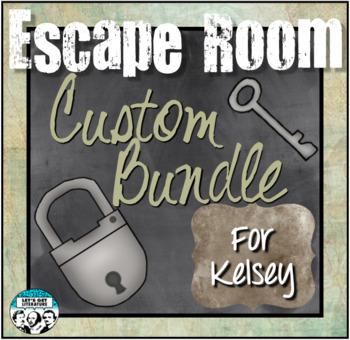 Custom Escape Room Bundle for Kelsey