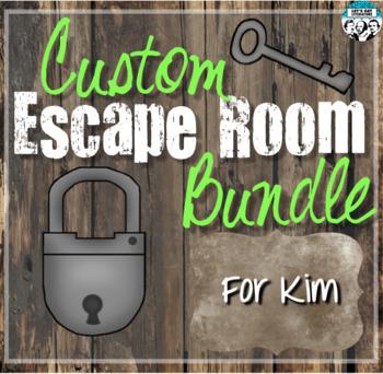 Custom Escape Room Bundle for Kim