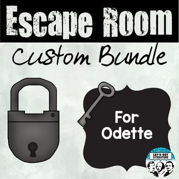 Custom Escape Room Bundle for Odette
