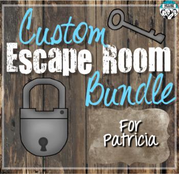 Custom Escape Room Bundle for Patricia