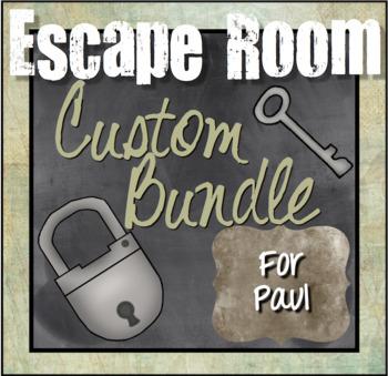 Custom Escape Room Bundle for Paul