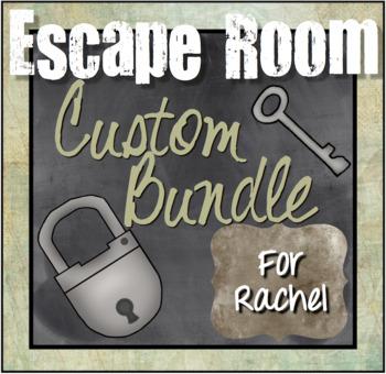Custom Escape Room Bundle for Rachel