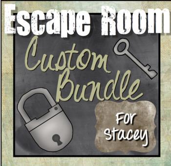Custom Escape Room Bundle for Stacey