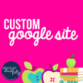 Custom Google Site Template