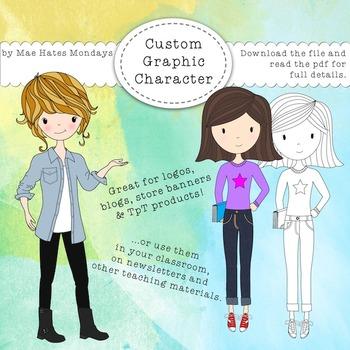 Custom Graphic Character / Avatar
