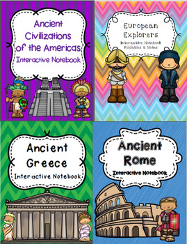 Custom History Interactive Notebook Bundle