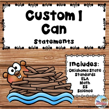 Custom I Can Statements